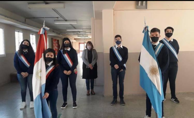 IPEMyA 188 CAMBIO DE ABANDERADOS Y PRESENCIALIDAD PLENA